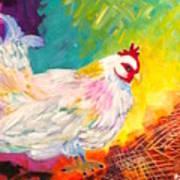 Chicken Scratch Poster
