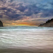 Chief Kiawanda Rock At Cape Kiwanda In Oregon Coast Poster