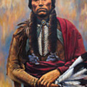 Chief Quanah Poster