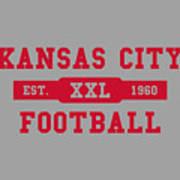 Chiefs Retro Shirt Poster