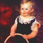 Child With A Hoop Poster