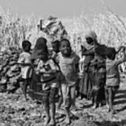 Childern Of The Danakil, Ethiopia Poster