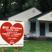 Childhood Home Of Bill Clinton Poster