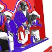 Children Dressed As Founding Fathers 2   Bi-centennial Of The Constitution Tucson Arizona Poster