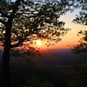 Chilhowee Sunset Poster
