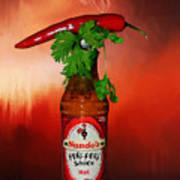 Chili Pepper, Coriander And Peri-peri By Kaye Menner Poster