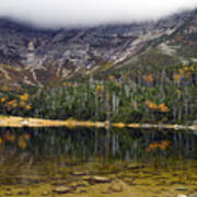 Chimney Pond During Fall - Baxter State Park Maine Poster