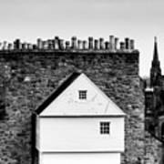 Chimneys In Edinburgh Poster