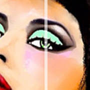 China Art Beautiful Lady Carmen Sander  Poster