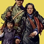 China - First To Fight - Ww2 Poster
