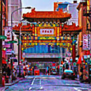 Chinatown Arch Philadelphia Poster