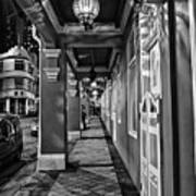 Chinatown In Singapore - Entry To The Saff Hotel Poster