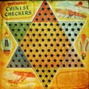 Chinese Checkers Poster