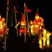 Chinese Lantern Festival British Columbia Canada 9 Poster