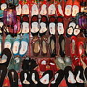 Chinese Slippers Poster