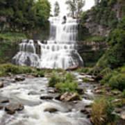 Chittenango Falls Poster