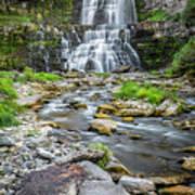 Chittenango Falls In Autumn  Poster
