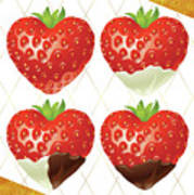 Chocolate - 7  Strawberry Poster