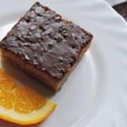 Chocolate And Orange Poster