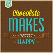 Chocolate Poster
