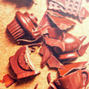 Chocolate Tableware Destruction Poster