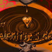 Chocolate Valentine Poster