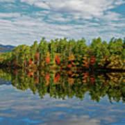 Chocorua Lake Reflection Poster