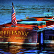 1958 Chris Craft Utility Boat Poster