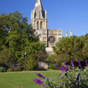Christ Church Cathedral Oxford University Uk Poster