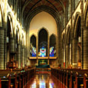 Christ Church Cathedral Victoria Canada Poster