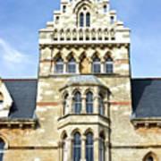 Christ Church College Oxford Architecture Poster