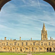 Christ Church College Oxford Poster