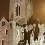 Christ Church Dublin Ireland Poster