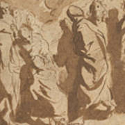 Christ Healing The Paralytic Poster