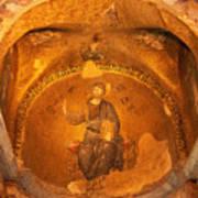 Christ Mosaic Poster