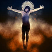 Christ Of The Cosmos Poster