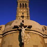 Christ On The Cross Outside The Nortre Dame De La Garde Poster