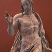 Christ Statue. The Louvre Poster