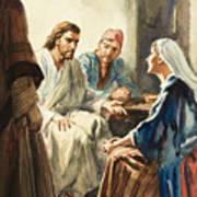 Christ Talking Poster