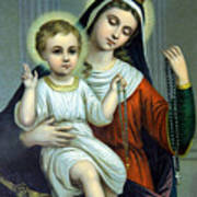 Christianity - Holy Family Poster