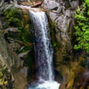 Christine Falls Mt Rainier Poster