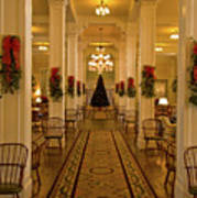 Christmas At The Mount Washington Hotel Poster