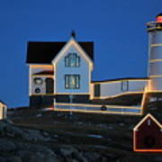 Christmas At The Nubble  Poster