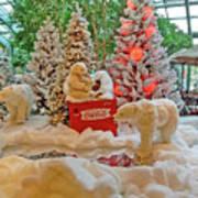 Christmas Bears Poster