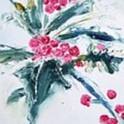 Christmas Berries Poster