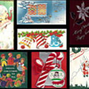 Christmas Collage  Poster