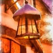 Christmas Lamp Poster