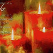 Christmas Light Poster