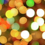 Christmas Lights Poster by Carlos Caetano