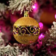 Christmas Ornament 1 Poster